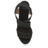 Castaner Women's Bernard Strappy Espadrille Wedged Sandals - Black: Image 3