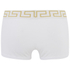 Versace Collection Men's Iconic Low Rise Trunk Boxer Shorts - White: Image 2