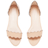 Loeffler Randall Women's Lina Scalloped Sandals - Wheat: Image 2
