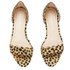 Loeffler Randall Women's Lina Scalloped Sandals - Cheetah: Image 2