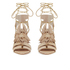 Loeffler Randall Women's Luz Tassel Block Heeled Sandals - Wheat: Image 4