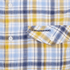 Craghoppers Men's Avery Short Sleeve Shirt - Dusk Blue: Image 3