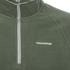 Craghoppers Men's Selby Half Zip Microfleece Jumper - Parka Green: Image 3