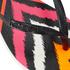 Havaianas Women's Slim Tribal Flip Flops - White/Black: Image 4