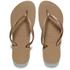 Havaianas Women's Slim Flip Flops - Rose Gold: Image 1