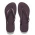 Havaianas Women's Slim Flips Flops - Aubergine: Image 1
