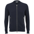 J.Lindeberg Men's Zipped Sweatshirt - Navy: Image 1