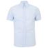 J.Lindeberg Men's Short Sleeve Shirt - Light Blue: Image 1