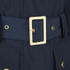 Barbour International Women's Broton Belted Casual Jacket - Navy: Image 3