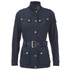 Barbour International Women's Broton Belted Casual Jacket - Navy: Image 1