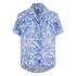 Carven Women's Short Sleeve Shirt - Blue: Image 1