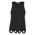 Carven Women's Circle Vest - Black: Image 1