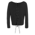 ONLY Women's Kari Long Sleeve Knitted Pullover - Black: Image 2