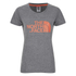 The North Face Women's Easy T-Shirt - TNF Medium Grey Heather: Image 1