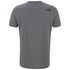 The North Face Men's Short Sleeve Fine T-Shirt - TNF Medium Grey Heather: Image 4