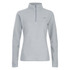 The North Face Women's Glacier Quarter Zip Fleece - TNF Light Grey Heather: Image 1