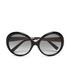 MICHAEL MICHAEL KORS Women's Willa Large Round Sunglasses - Black: Image 1