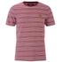 Lyle & Scott Vintage Men's Crew Neck Oxford Stripe T-Shirt - Ruby: Image 1