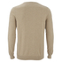 Lyle & Scott Vintage Men's Crew Neck Cotton Merino Jumper - Light Brown: Image 2