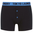 Tokyo Laundry Men's Charmouth 2 Pack Button Boxers - Buttercup/Swedish Blue: Image 3