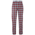 Tokyo Laundry Men's Half Moon Bay Check Loungepants - Samba Red: Image 1