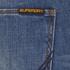 Superdry Men's Corporal Slim Denim Jeans - Clear Blue Antique: Image 6