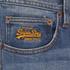 Superdry Men's Corporal Slim Denim Jeans - Clear Blue Antique: Image 3
