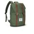Herschel Retreat Backpack - Green/Tan: Image 3