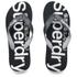 Superdry Men's Flip Flops - Black Optic: Image 1
