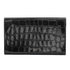 Aspinal of London Travel Wallet - Black Croc: Image 5