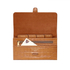 Aspinal of London Travel Wallet - Tan Croc: Image 4