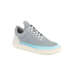 Filling Pieces Iron Leather Low Top Trainers - Ocean Grey: Image 4