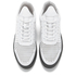 Filling Pieces Men's Gradient Perforated Low Top Suede Trainers - White: Image 2