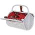 Bark & Blossom White Rattan Picnic Basket: Image 2