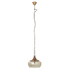 Bark & Blossom Copper and Glass Dome Hanging Light: Image 2