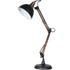Bark & Blossom Copper and Black Desk Lamp: Image 1