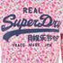Superdry Women's Vintage Logo Chelsea Ditsy Hoody - Optic Ditsy: Image 3