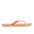 Superdry Women's Printed Cork Flip Flops - Fluro/Coral Palm Print: Image 3