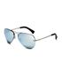Ray-Ban Aviator Sunglasses - Silver: Image 2