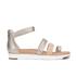 UGG Women's Zina Gladiator Sandals - Gray Gold: Image 1