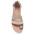 UGG Women's Zina Gladiator Sandals - Gray Gold: Image 3
