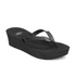 UGG Women's Ruby Wedged Sandals - Black: Image 2