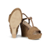 UGG Women's Fitchie T Bar Wedged Sandals - Rust: Image 6