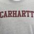 Carhartt Men's College Sweatshirt - Grey/Burgundy: Image 3