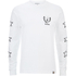 Carhartt X Moodymann Men's Long Sleeve MMC Set U Free T-Shirt - White: Image 1