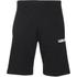 Carhartt Men's College Sweat Shorts - Black/White: Image 1