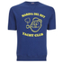 TSPTR Men's Yacht Club Short Sleeve Sweatshirt - Royal: Image 1