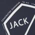 Jack & Jones Men's Core Hex T-Shirt - Navy Blazer: Image 3