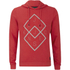 Jack & Jones Men's Core Fat Hoody - Chinese Red: Image 1