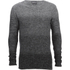 Jack & Jones Men's Originals Basket Knit Jumper - Grey Melange: Image 1